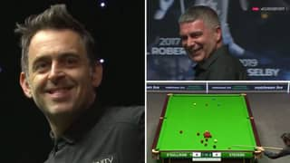 Ronnie O'Sullivan Drops Loud Fart And Blames The Referee In One Of Snooker's Funniest Ever Moments