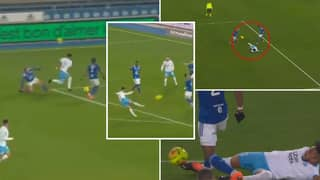 Dimitri Payet Defies Physics With Incredible Scooped Pass While On The Floor