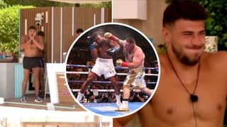 Love Island Star Tommy Fury's Priceless Reaction To Anthony Joshua's Shock Loss To Andy Ruiz Jr