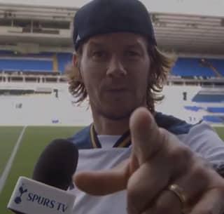 WATCH: Mark Wahlberg is a Tottenham Fan And He Doesn't Like Arsenal