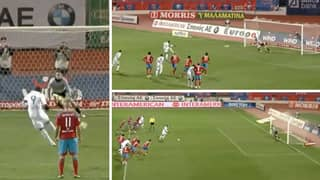 Djibril Cisse Is Responsible For One Of The Greatest Penalties Ever