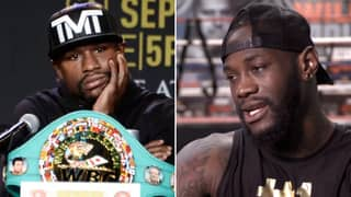 Deontay Wilder's Shocking Response To A Potential Floyd Mayweather Return This Year