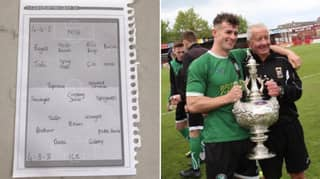 LAD Goes Viral After Making Other Half Write Out Shopping List In Two Football Formations