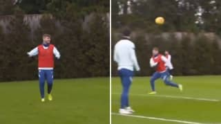 Clip From Training Shows How Chelsea Players Are Supporting Timo Werner