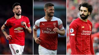 The Premier League Team Of 2020 Based On Stats Includes Mustafi And Fernandes