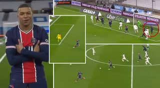 Kylian Mbappe Hit A Lightning-Quick 36KM/H To Finish Incredible Counter Attack Vs Marseille