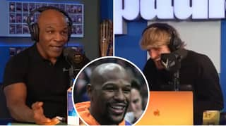 Mike Tyson Destroys Logan Paul With Floyd Mayweather Prediction