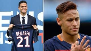 Hatem Ben Arfa Uploads Funny Picture After Hearing Neymar's PSG 'Demands'