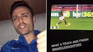 Dimitar Berbatov Commentating Over Marcus Rashford's First Touch Is The Best Thing You'll Hear Today