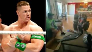 WWE Legend John Cena Surprises 7-Year-Old Fan Battling Life-Threatening Illness With Home Visit