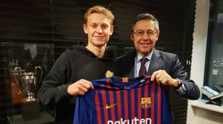 Barcelona Sign Ajax Midfielder Frenkie de Jong For £65 Million