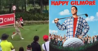 Pro Golfer Did Happy Gilmore-Style Swing While In Last Place At PGA Event