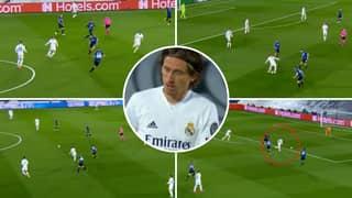 Luka Modric Compilation Vs Atalanta Shows His 'Masterclass' Midfield Performance For Real Madrid