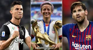 Megan Rapinoe Says Cristiano Ronaldo And Lionel Messi Could Do More To Help Fight Racism
