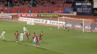 Djibril Cisse Hit Such A Good Penalty The Ball Stuck In The Corner