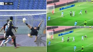 Daniele Verde Scores The Most Perfect Bicycle Kick Goal Against Lazio