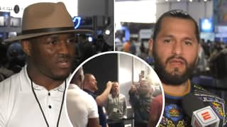 Jorge Masvidal And Kamaru Usman React To Super Bowl Media Day Altercation