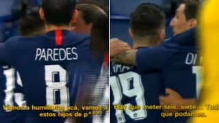 What Angel Di Maria Told PSG Teammates During Dortmund Game Shows How Rattled They Were