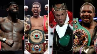 The Top 10 Heavyweight Boxers In The World Have Been Ranked