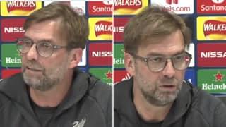 Jurgen Klopp Ripped Into A Journalist After Coronavirus Question Ahead Of Liverpool Vs Atletico Madrid