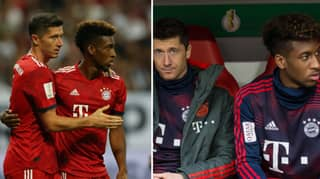 The Mad Reason Robert Lewandowski And Kingsley Coman Came To Blows In Training