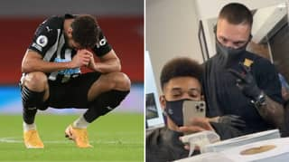 """Barber Calls Newcastle Striker Joelinton An """"Idiot"""" For Sharing Haircut Picture"""
