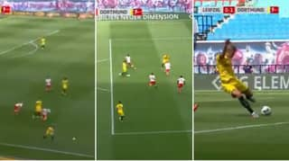 Erling Haaland Finishes Off Incredible Team Goal For Borussia Dortmund