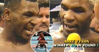 Mike Tyson Trainer Fired Him Up With $22 Million Purse On First-Round KO