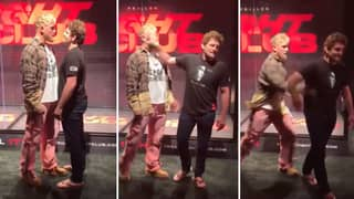 Jake Paul And Ben Askren Got Into It At Press Conference Ahead Of Boxing Bout