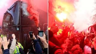 Liverpool Fans 'Preparing Hostile Reception' For Manchester United On Sunday
