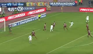 WATCH: Dries Mertens Audaciously Lob Joe Hart From Inside The Box