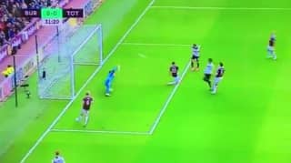 WATCH: Dele Alli Misses Absolute Sitter Against Burnley