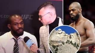 Jon Jones Names His MMA Mount Rushmore, Also Picks His GOAT Fighter