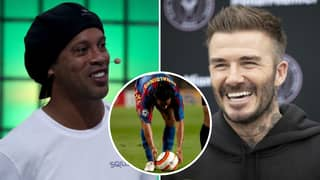 David Beckham And Ronaldinho's Free-Kick Secrets Were 'Stolen' By Football Legend