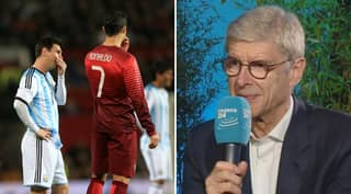 Arsene Wenger Predicts Who Will Succeed Cristiano Ronaldo And Lionel Messi At Top Of World Football
