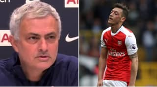 Jose Mourinho Savagely Hits Back At Mesut Ozil's Tottenham Transfer Claim