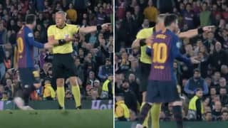 Lionel Messi Told To 'Show Some Respect' In Fresh Footage From Barcelona Vs Liverpool