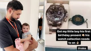 Amir Khan Buys £30,000 Rolex For One-Year Old Son's Birthday