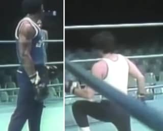 Epic Video Shows How Stallone And Weathers Choreographed The Rocky-Creed Fight