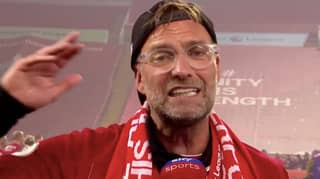 Jurgen Klopp Gave A Superb Interview Live On Sky Sports After Lifting The Premier League Trophy