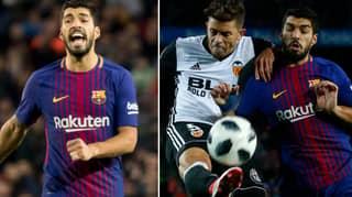 Luis Suarez Insults Valencia's Gabriel, He Responds Brilliantly