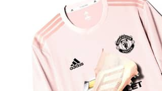 The New 'Pink' Manchester United Away Kit To Be Released Tomorrow