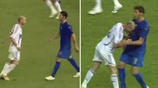 Marco Materazzi Reveals What He Said To Zinedine Zidane Before 2006 World Cup Final Headbutt