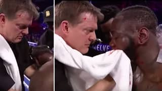 Deontay Wilder's Corner Advice Before Round Seven Shows Why He Was Way Out Of His Depth
