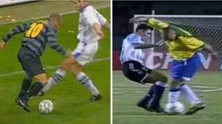 A Compilation Of 'R9' Ronaldo Humiliating Defenders Is A Joy To Watch