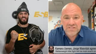 Dana White Reveals How Kamaru Usman Vs. Jorge Masvidal Was Made For UFC 251