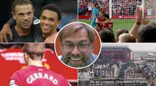 Liverpool Release Emotional Video On Twitter After First Premier League Title