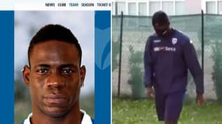Brescia Change Mario Balotelli's Weight On Website Showing Him 8kg Overweight