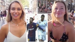 Girls Asked Who They Would Rather Date Out Of Cristiano Ronaldo And Lionel Messi
