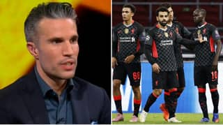 Robin van Persie Says Ajax Were The Better Team Against Liverpool